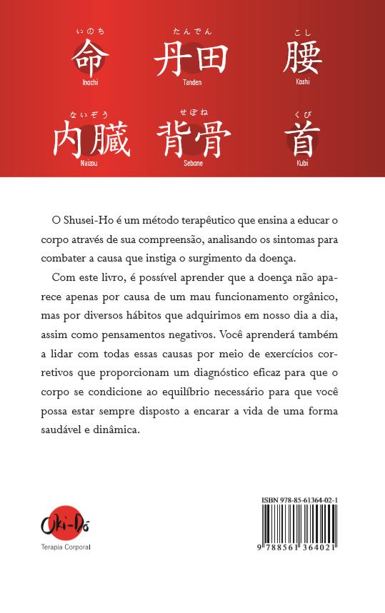 Livros Okido Shusei Ho Costa Okido Terapia