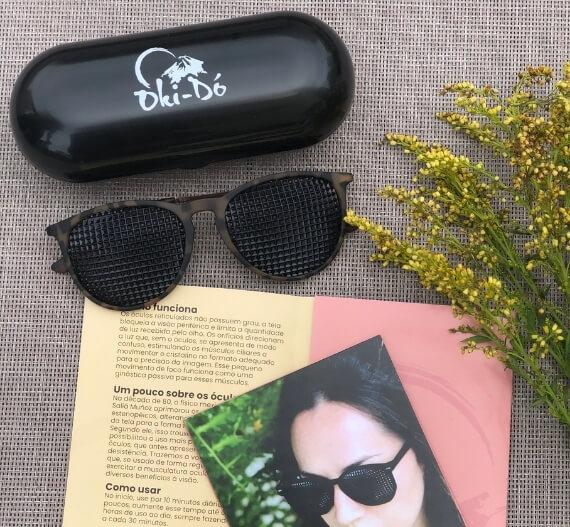 Produtos Óculos reticulados Okido Terapias